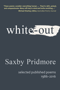 White-out by Saxby Pridmore